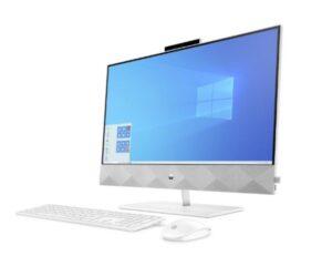 מחשב נייח HP AIO 24 i5-10400T 8GB 512NVME WIN10 HOME MX350 White