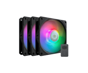 מאוורר למארז COOLER MASTER Sickleflow 120 ARGB 3IN1